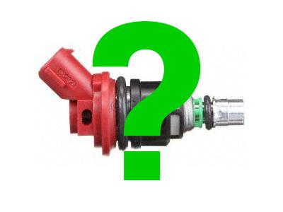 Bosch Fuel Injector question mark