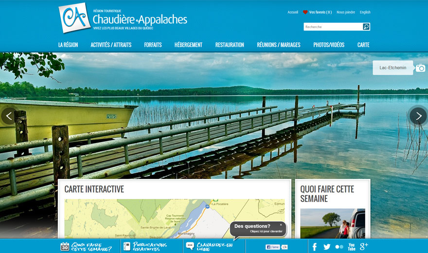 Association Touristique Chaudière Appalaches (ATR)