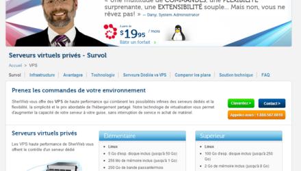 Site Web SherWeb
