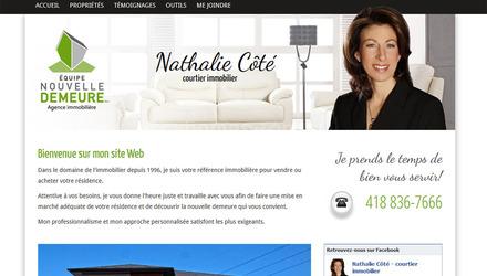 Nathalie Côté, courtier immobilier