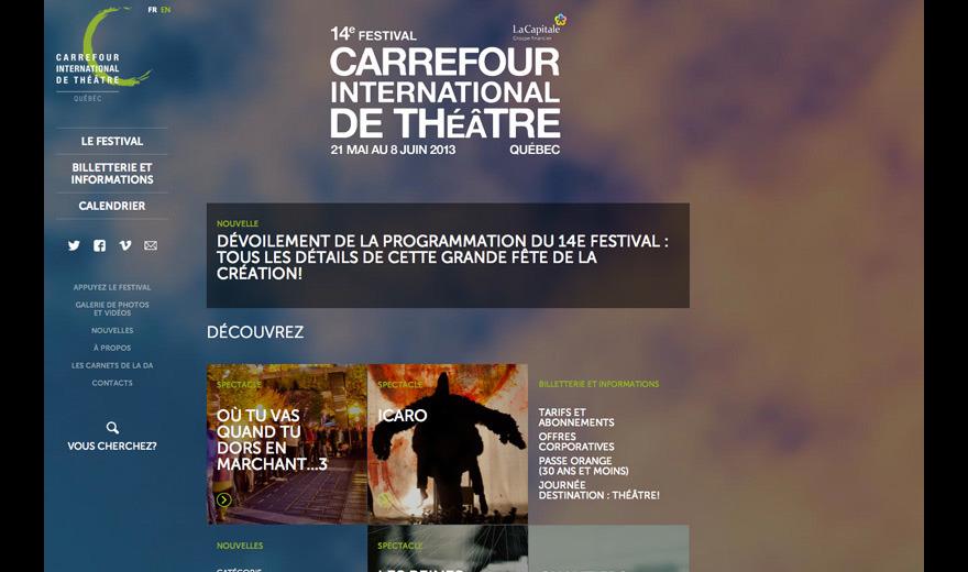 Carrefour Théâtre, Unicité et rayonnement