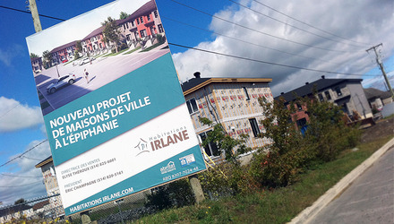 Irlane / promoteur immobilier
