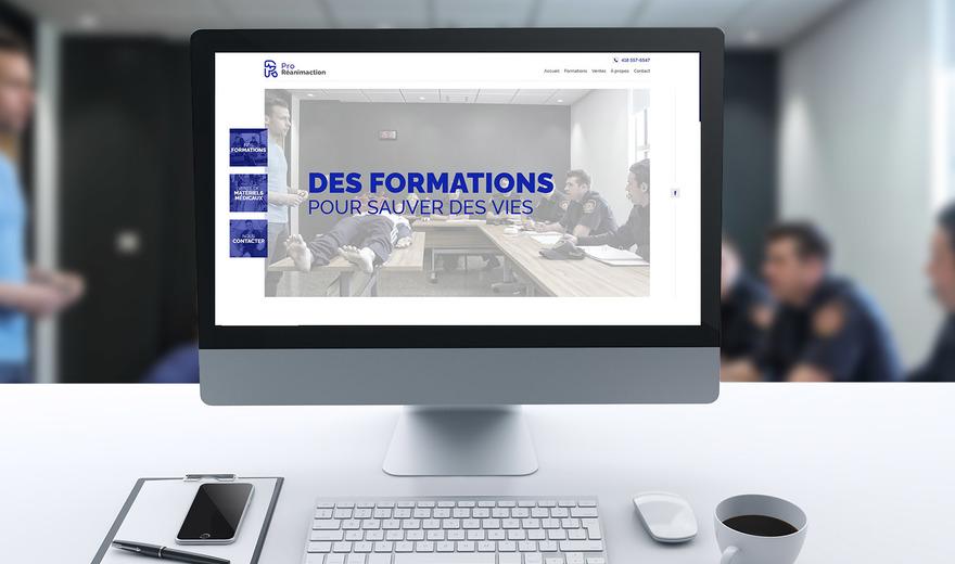 Site web réactif pour Arbosag