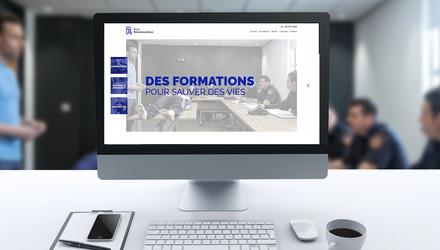 Site web pour Pro Réanimaction