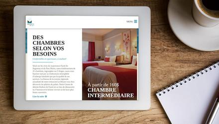 Saguenay Média - Site web pour l'auberge des 21