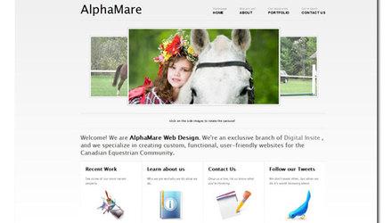 un de nos sites, créé pour Alpha Mare