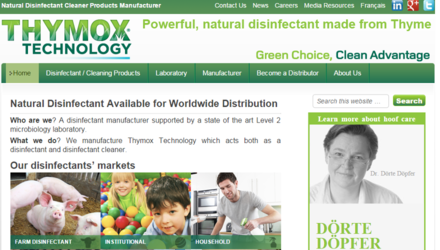 Thymox - Manufacturier cherchant distributeurs mondialement