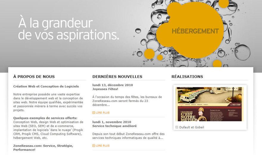 conception site web, application web sherbrooke montréal québec