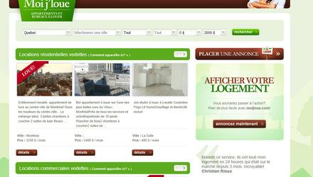 Moijloue.com apaprtement à louer Montréal,condo à louer Montréal