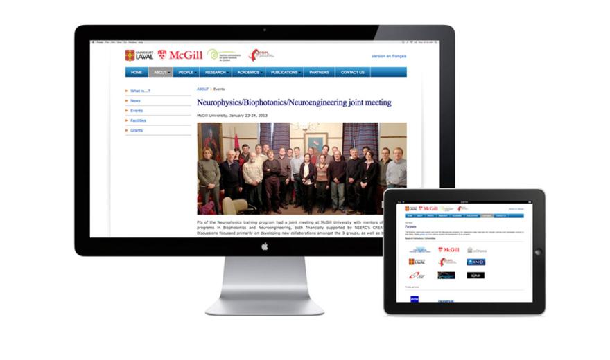Neurophysique site Web du programme de l'Université Laval