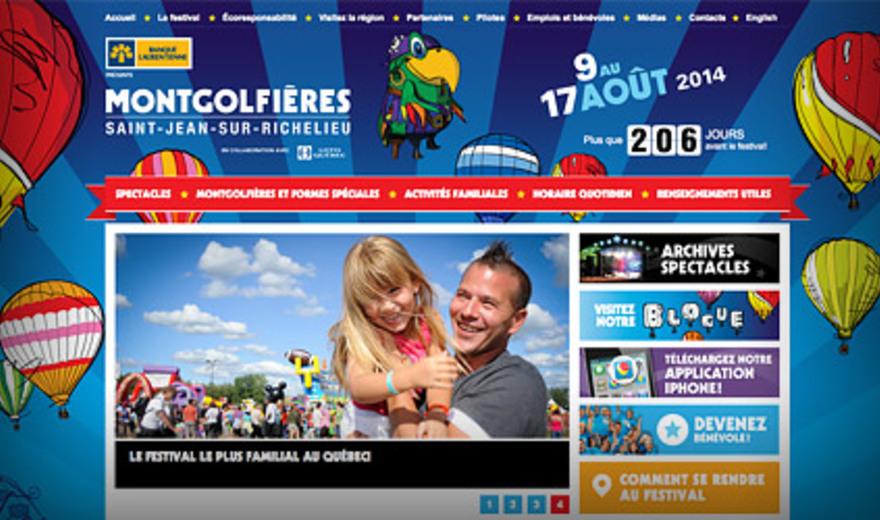 Internation des montgolfières de Saint-Jean-sur-Richelieu
