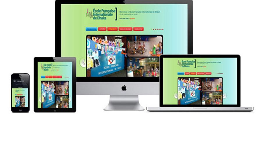 Site Education: École Internationale Française de Dhaka