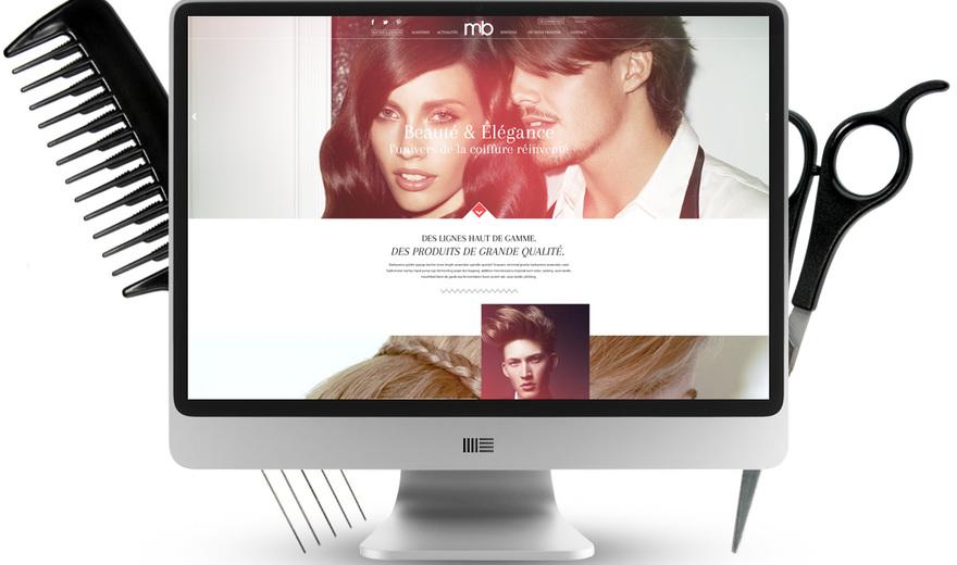 M2B - L'univers de la coiffure réinventé (100% responsive)