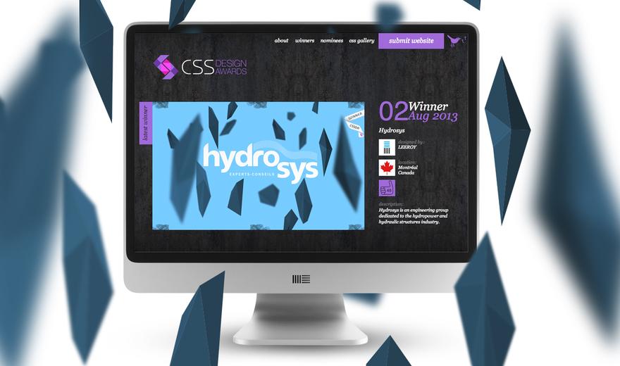HYDROSYS - Design Web ingénierie