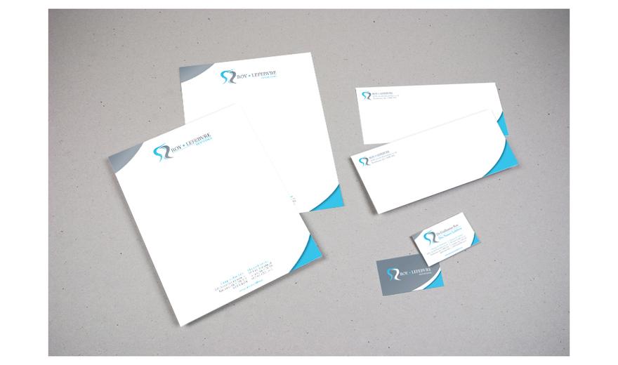 Papeterie Terrebonne - enveloppe - entête lettre