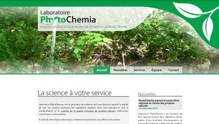 Site web - Phytochemia