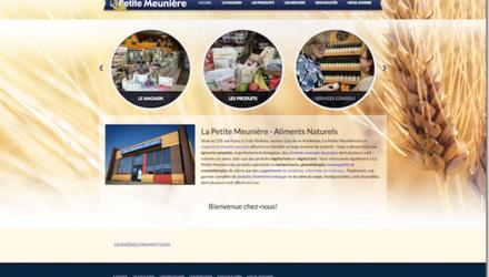 La Petite Meunière - Site web