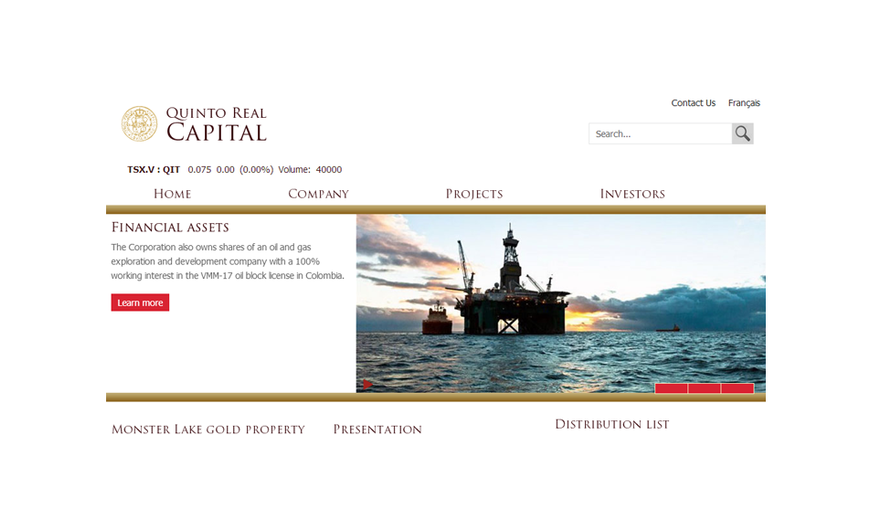 Quinto Real Capital Corporation