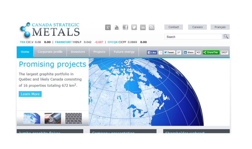 Canada Strategic Metals Inc.