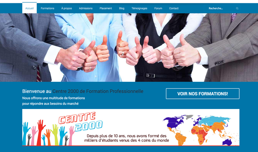 Centre 2000 Formation professionnalle