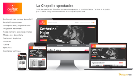 Centre d'art La Chapelle : boutique en ligne