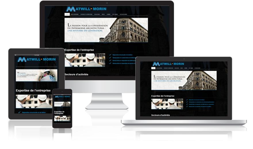 Conception Site Web à Montréal - Atwill-Morin