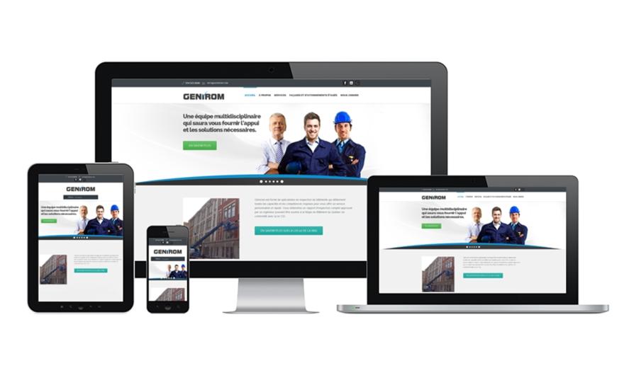 Conception Site Web à Montréal - Génirom