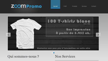 Site internet ZoomPromo.ca