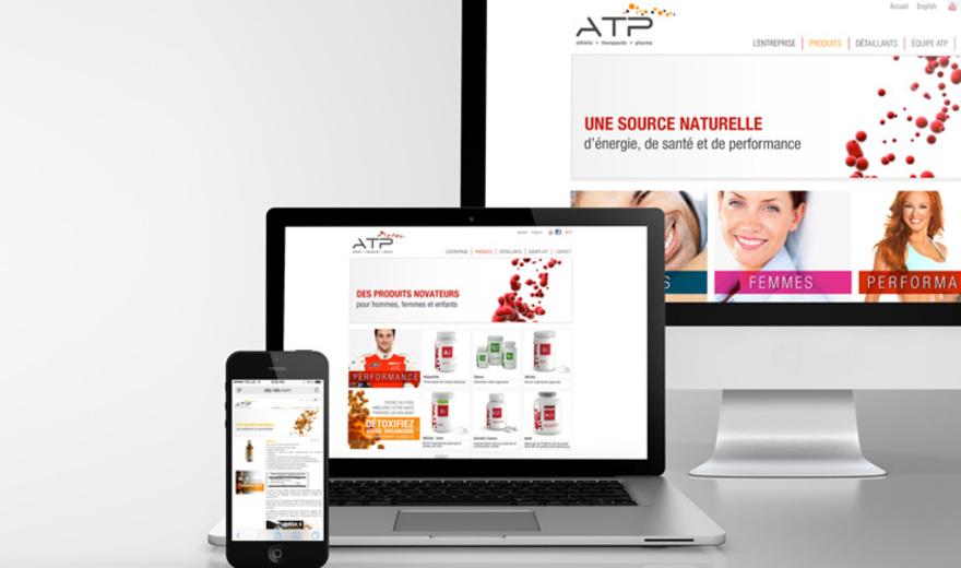 Site web avec gestionnaire de contenu - ATP Lab