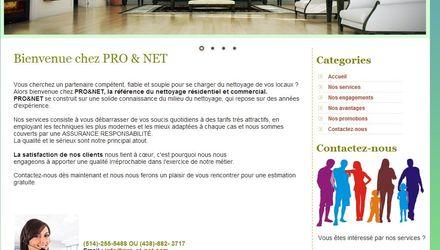 PRO&NET (site vitrine)