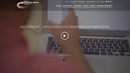 Refonte du site Web du Centre de productique intégrée du Québec