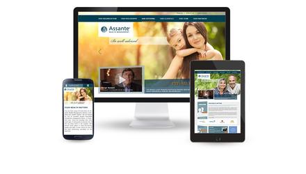 Assante Québec (SIA 2014) - site Web & site mobile