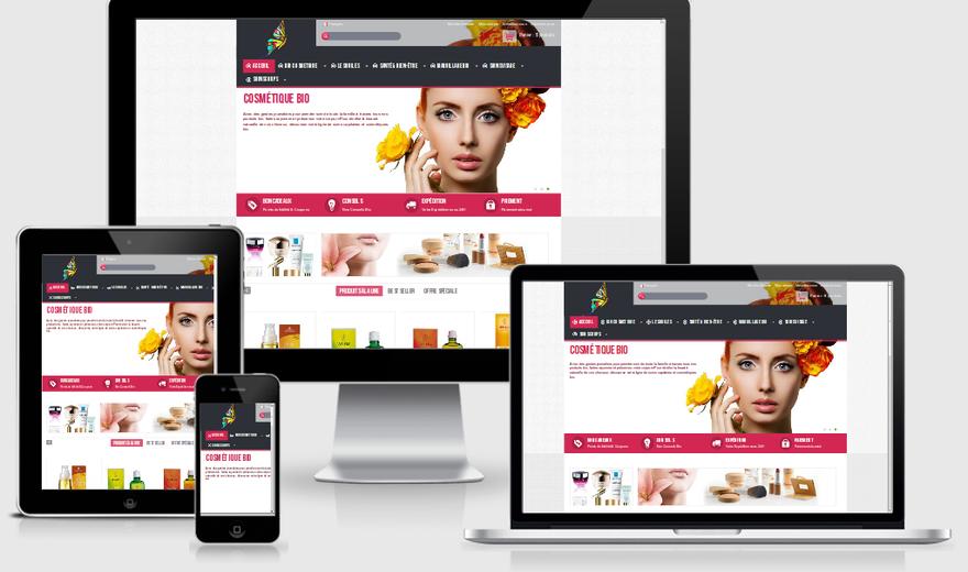 Boutique en ligne de Biocosmétiques