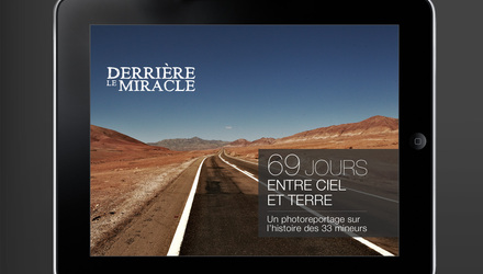 Application iPad: Derrière le Miracle