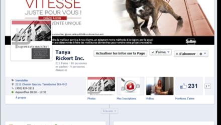 Facebook Page d'Entreprise