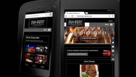 Restaurant Rib N Reef Mobile