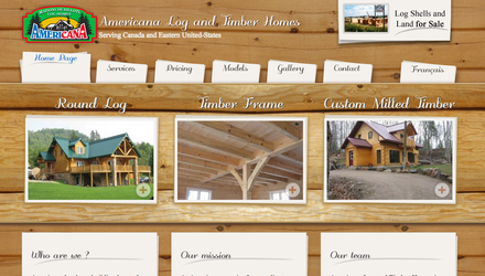 Americana Log Homes