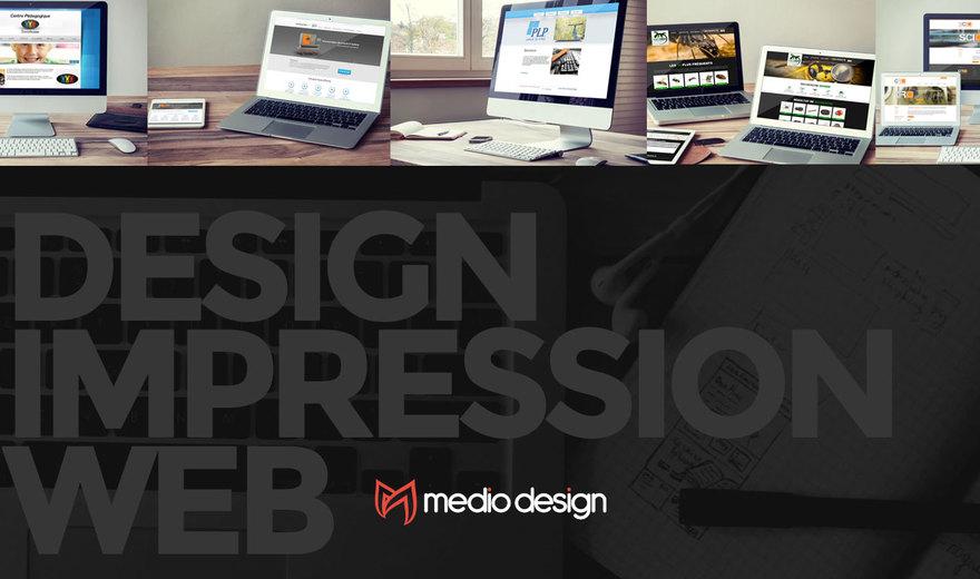 Medio Design - Design Impression Web