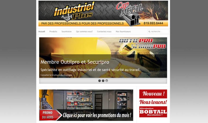 Conception de site web - Industriel plus inc.