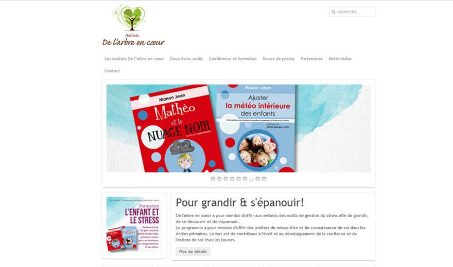 Conception de site web - Arbre En Coeur
