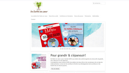 Conception de site web - Arbre En Coeur