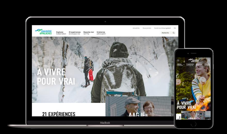 Tourisme Chaudière-Appalaches | Plateforme web