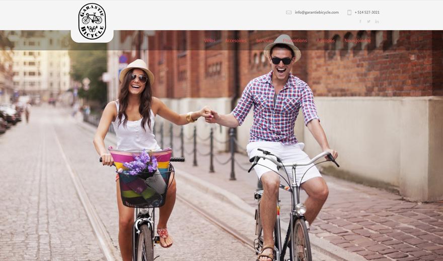 Conception Web - Garantie Bicycle