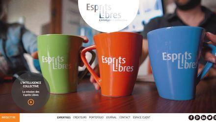 Esprits Libres | Web, e-commerce, graphisme