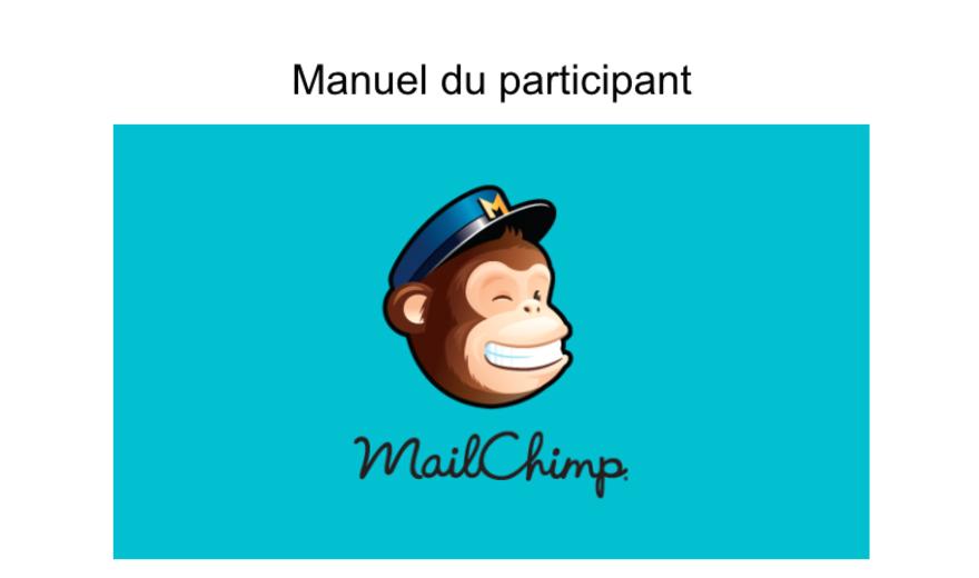 Guide de référence MailChimp
