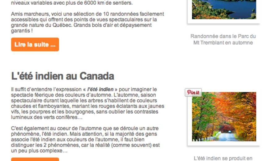 Formation MailChimp pour Parcours Canada