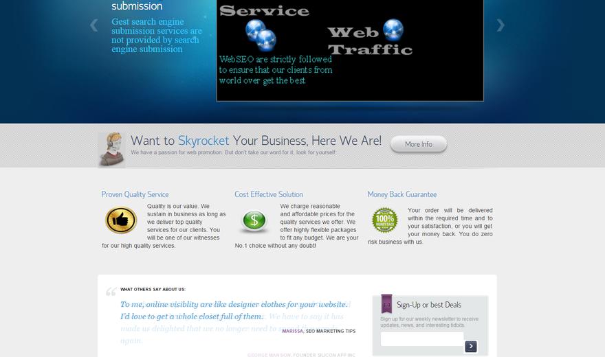 Service Web SEO