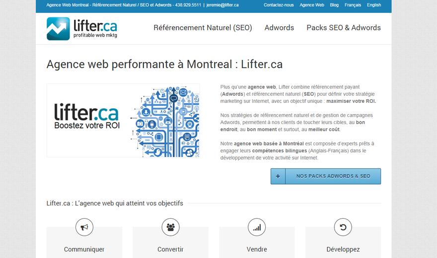 Agence SEO Montréal