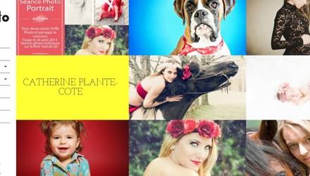 Site Web pour une photographe