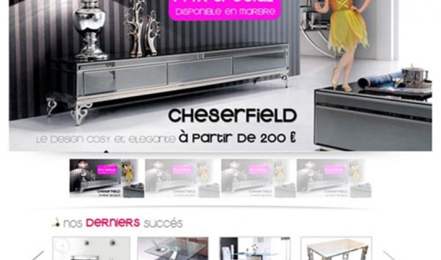Boutique en ligne de meubles